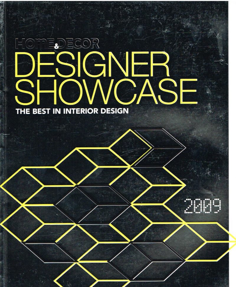 Home and Decor Designer Showcase 2009 main cover.
